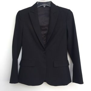 Theory Gabe B Wool Blazer Black 0